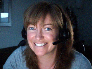 Webcam pic while on-air (radio)