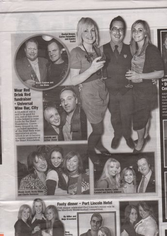 SundayMail, Wear Red Drink Red