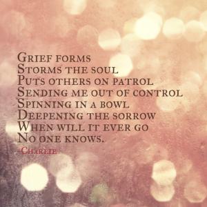Grief Poem - Charlie