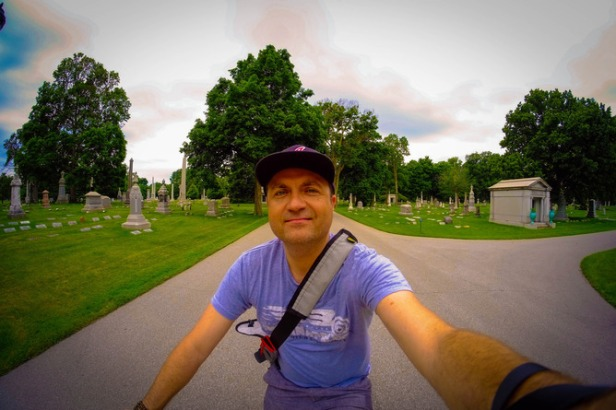 Death and the selfie; the Conversation